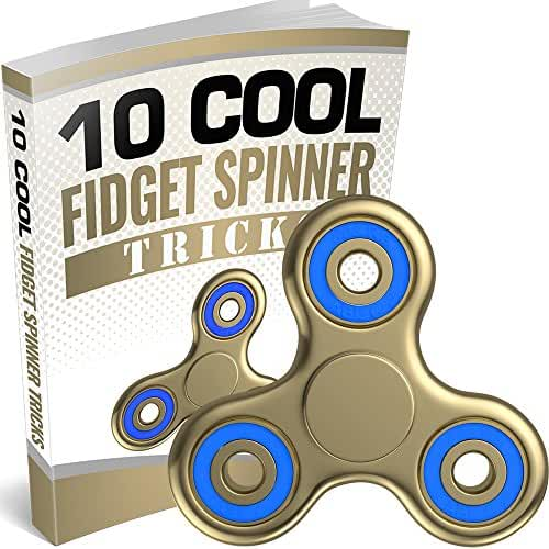 The Anti-Anxiety 360 Spinner Helps Focusing Fidget Toy [3D Figit] Tri-Spinner EDC Focus Toy for Kids & Adults - Best Stress Reducer Relieves ADHD Anxiety Boredom Metal Bearing