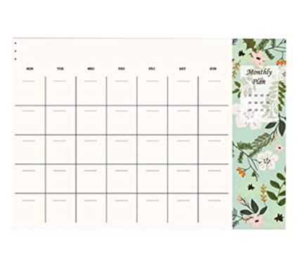 Manual Cuaderno de apuntes Plan de escritorio semanal, A4 ...