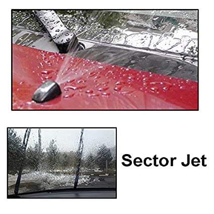 Misima x2 - Boquilla de pulverización para limpiaparabrisas delantero para Toyota Land Cruiser Prado J120 120 Corolla Verso E121 Spacio 2003: Amazon.es: ...