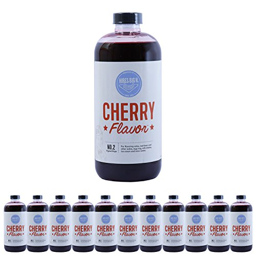 UPC 719236005894, Hires Big H Cherry Syrup, Great for Soda Flavoring - 12 Pack