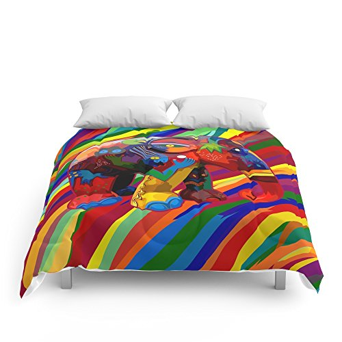 Society6 Full Color Abstract Elephant IPhone 4 4s 5 5c 6, Pillow Case, Mugs And Tshirt Comforters Queen: 88'' x 88'' by Society6