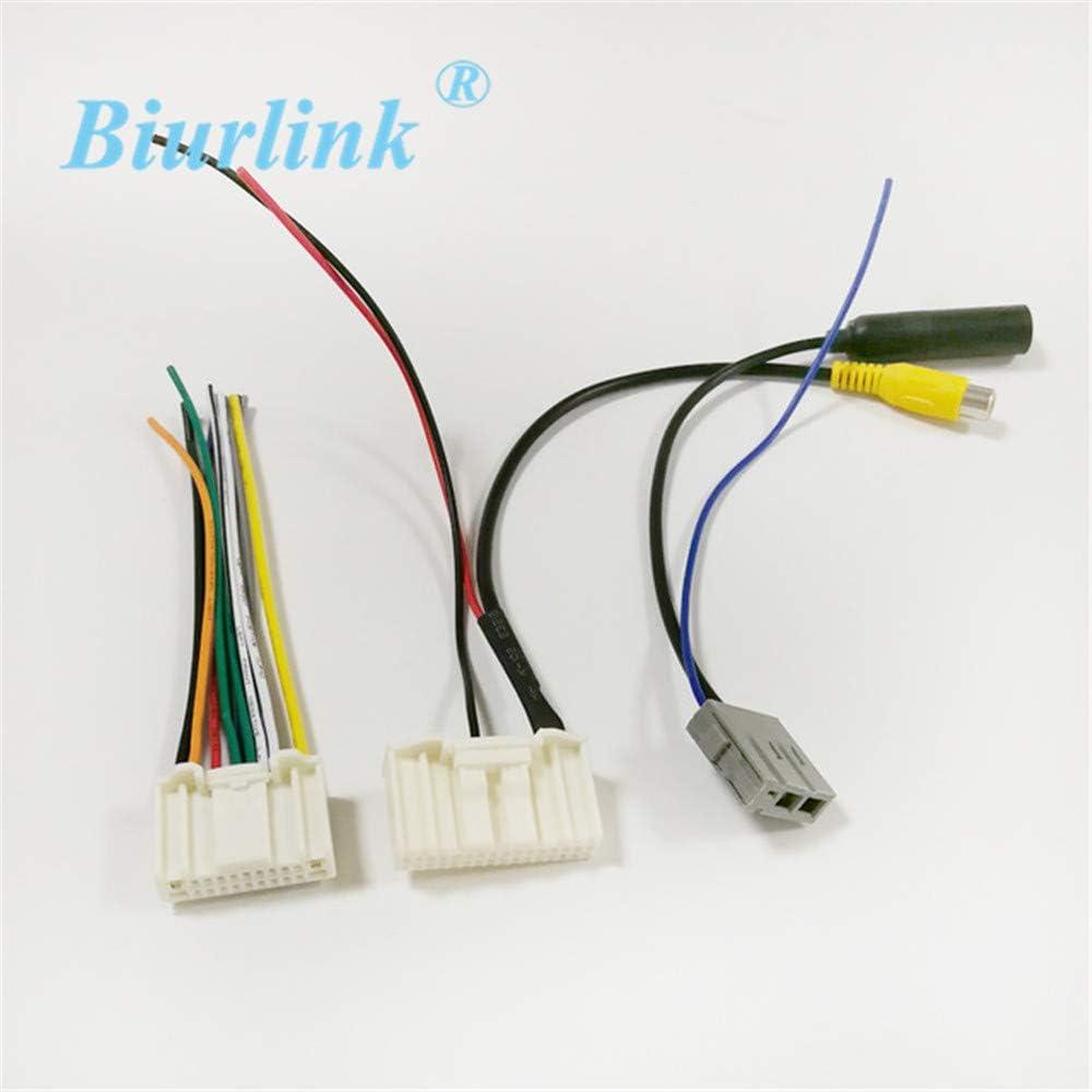 Davitu - Cable de arnés de antena para Nissan Qashqai con ...