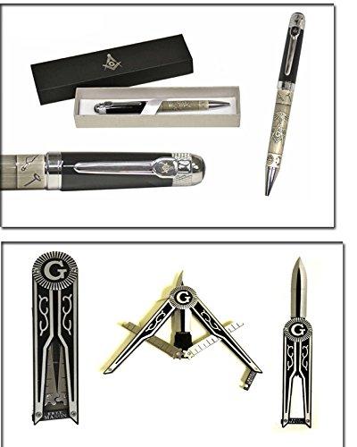 Fathers Day Masonic Gift Set (Pen & Knife Set)