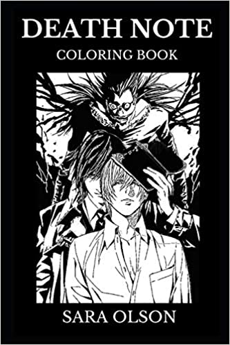 Amazon Com Death Note Coloring Book Legendary Cultural