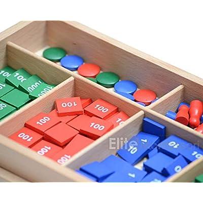 Elite Montessori Stamp Game: Toys & Games