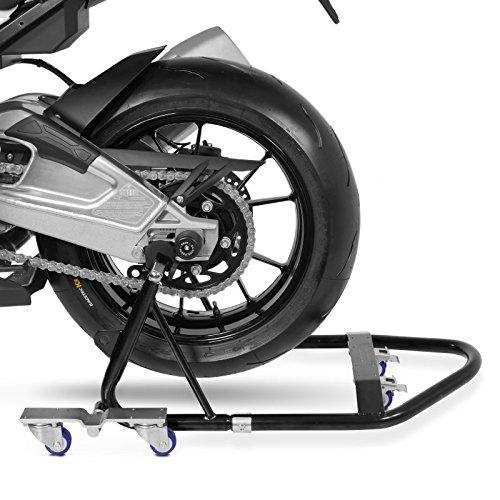 ConStands Mover I Motorrad Montagest/änder Hinten Rangierhilfe Hinterrad-St/änder Heber Universal hinten Schwarz