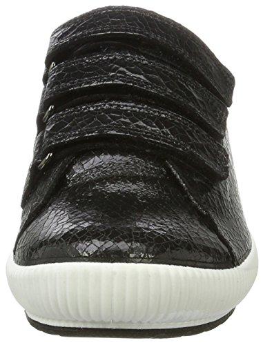 Legero Ladies Tanaro Sneaker Nero (combinazione Nera)