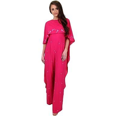 a38bdd3cdec45 Amazon.com  Juicy Couture Black Label Womens Capelet Wide Leg ...