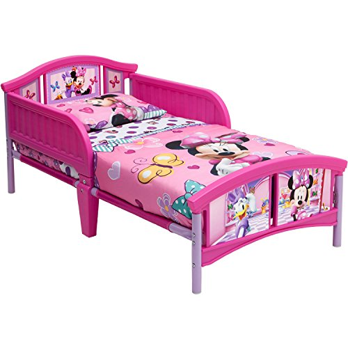 Price comparison product image Delta Children Minnie Mouse Plastic Toddler Bed