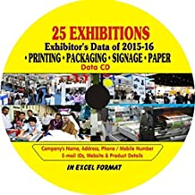 Companies Data of Printing, Packaging & Paper Related Exhibitions Data