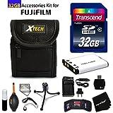 Best Fuji Memory Cards - 32GB Accessory Kit for Fuji Fujifilm FinePix XP90 Review