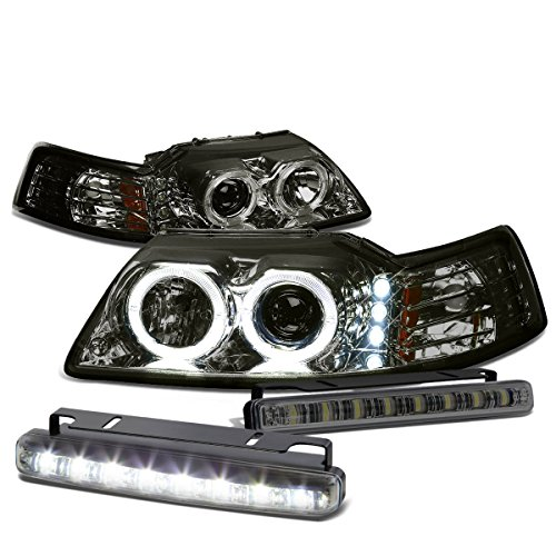 02 mustang halo headlights - 4