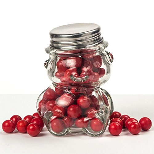 <em>Perfectly Plain Collection</em> Teddy Bear Jars, 1