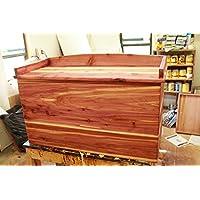 Cedar storage chest, cedar chest, hope chest, storage chest, wooden chest