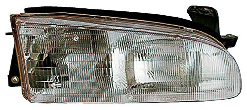 For 1993 1994 1995 1996 1997 Geo Prizm Headlight Headlamp Assembly Passenger Right Side Replacement GM2503134 (Geo Prizm Replacement Headlight)