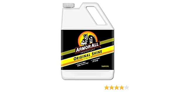 1gal Bottle Case of 4 Armor All 10710 Original Protectant
