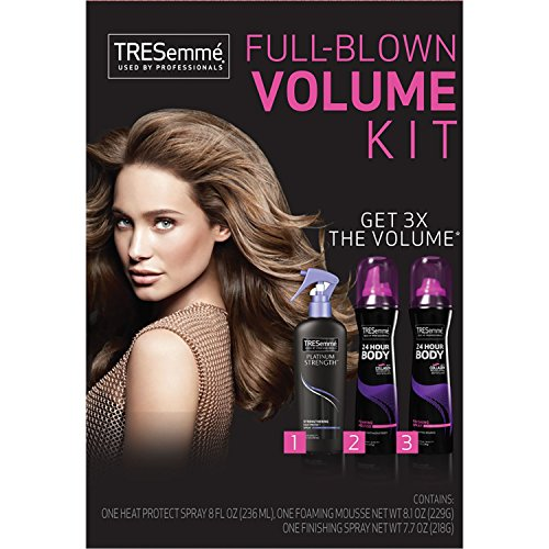 Tresemme Hair Styling Kit Full-Blown Volume 3Pc
