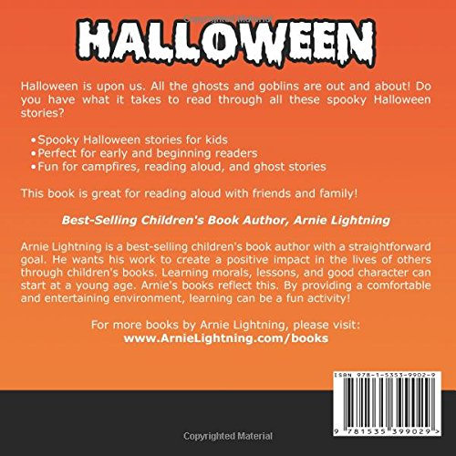Halloween: Scary Halloween Stories for Kids (Volume 4): Arnie ...