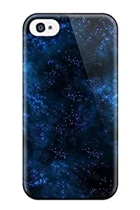 High Impact Dirt/shock Proof For Apple Iphone 4/4S Case Cover (blue Space)
