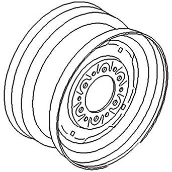 481345R1 - Llanta de ruedas delantera universal para tractor de ...