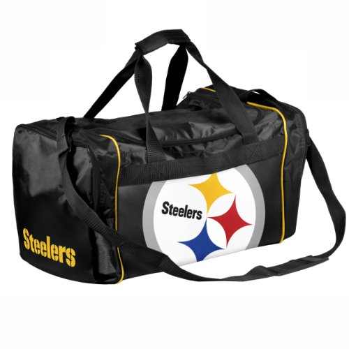 Forever Collectibles NFL Pittsburgh Steelers Core Duffel Bag by Forever
