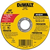 DeWalt DW8062 4-1/2'' x .045 x 7/8'' Type 1 Metal Cut Off Wheel - Quantity 20