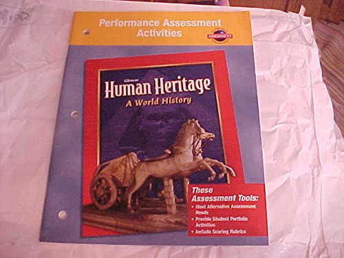 Human Heritage: A World History Performance Assessment Activities