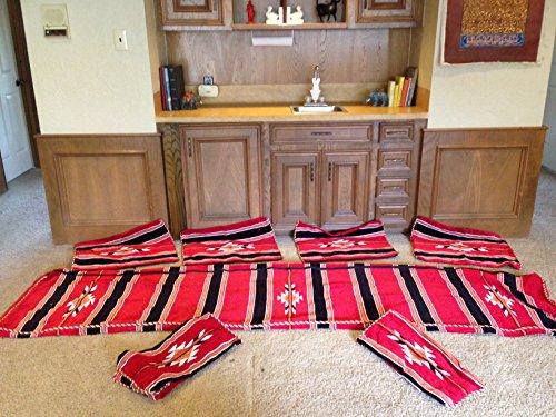 arabic-floor-seating-cover-set-3m-red-velvet-gold-trim