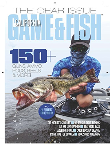 Best Price for California Game & Fish Magazine Subscription