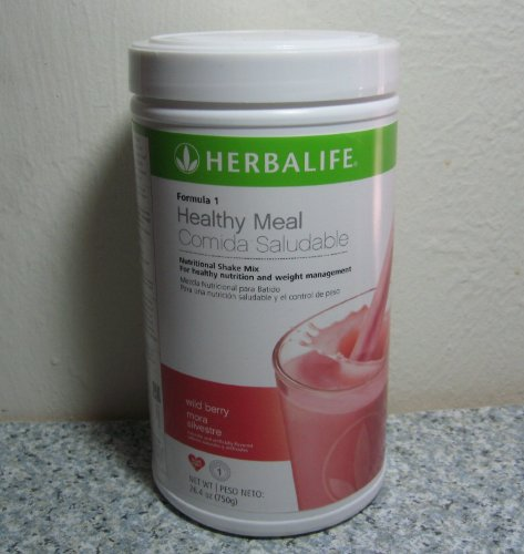 Formula 1 Healthy Meal Nutritional Shake Mix - Wild Berry, 550 g canister (Wild Berry Beverage Mix compare prices)