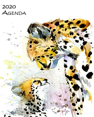 "2020 Agenda: Large 8""x 10"" Daily and Monthly Agenda Planner and Organizer – 1-Page-a-Day to Plan, Organize and Be…"