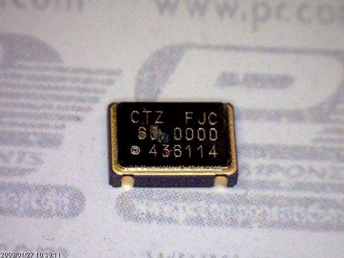 30 Pcs Smd Crystal Oscillator 60Mhz 3 3V 30Pf 4 Pin Csmd Csx750fjc60 000000Mtr