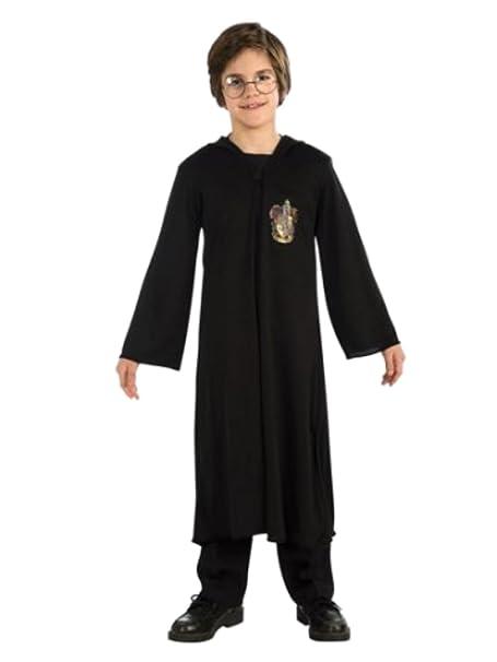 Amazon.com: Harry Potter niños albornoz con capucha disfraz ...