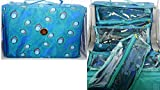 Joy Mangano Deluxe XL Better Beauty Case ~Teal Peacock