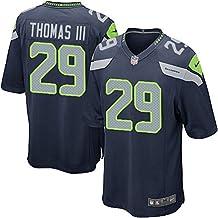 Nike Youth Seahawks #29 Earl Thomas III Football Jersey Navy Blue Large 14/16