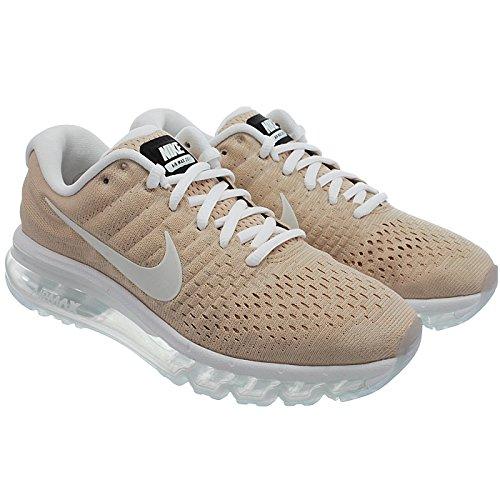 NIKE Air Max 2017 Women's Running Sneaker B07BWH3KRF 5 B(M) US|Beige White 200