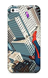 For JeffBDunbar Iphone Protective Case, High Quality For Iphone 5c The Amazing Spider-man 29 Skin Case Cover