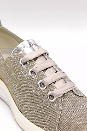 Noir Kda927 Cafènoir Argento Glitter Tessuto Cafè In Sneakers nz8vqx