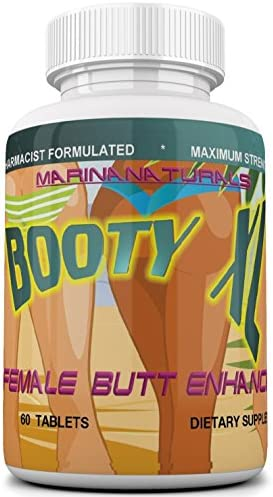 Booty XL Best Female Butt Enhancement & Enlargement Pills, Get a Firm, Fuller & Sexy Buttocks, Butt Enhancer. 2600Mg Formula (The Most Dense & Complete Formula Online).