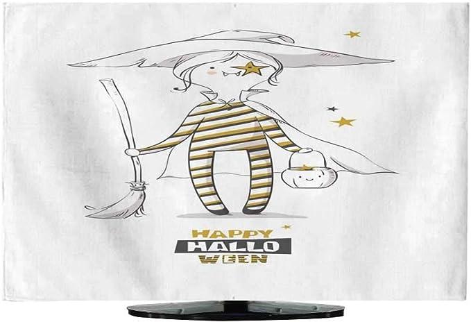 Funda de Tela para TV, diseño de Calabazas: Amazon.es: Electrónica