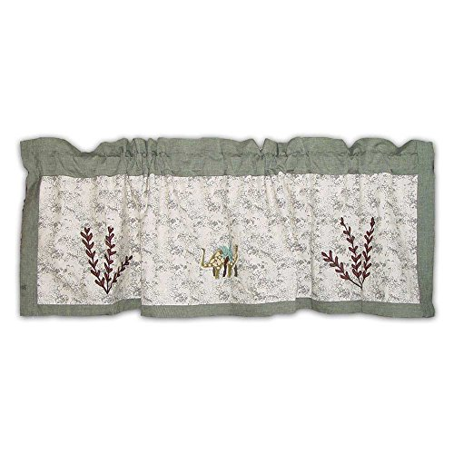 Patch Magic Dinosaur Curtain Valance, 54-Inch by 16-Inch