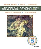 Abnormal Psychology, Kring, Ann and Davison, Gerald C., 1118640888