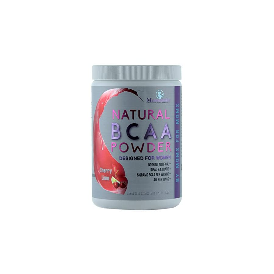 Natural BCAA Powder. Great Tasting Cherry Lime Flavor. 40 Servings. Sweetened with Stevia, Erythritol, and Monk Fruit. Made by Women for Women.