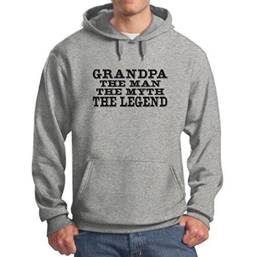 TeeStars Mens Grandpa Legend Hoodie product image