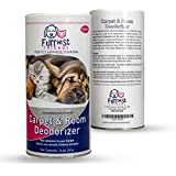 Furriest Friends Carpet and Room Deodorizer – Pet Odor Eliminator Neutralizer - Pet Safe - Environmentally Friendly – Odor Remover - Natural Non-Abrasive Powder