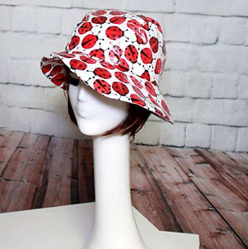 Cloche Asymetrical Rain Hat