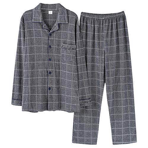 Uomo Set Dimensioni Di Plaid Grandi Pigiama Homewear2018 Notte Da Color Da Vestitino Biancheria Di Photo Pigiama Mmllse Pigiami x8YIAq