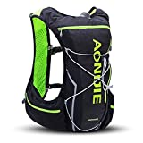 AONIJIE Running Hydration Pack Backpack Men 10L Deluxe Running Race Hydration Vest Outdoors Mochilas Marathon Running Cycling Hiking