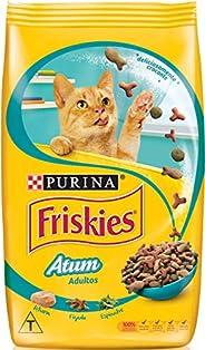 Ração Purina Friskies Atum para Gatos Adultos Sabor Frutos do Mar, 3kg