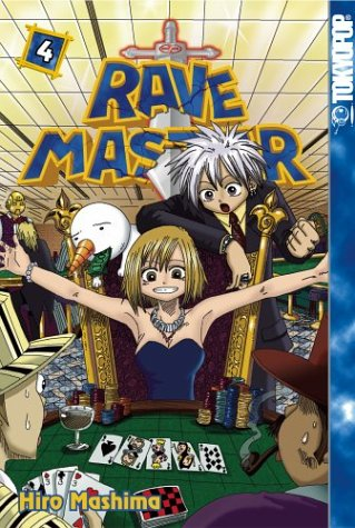 Amazon Rave Master Vol 4 9781591822110 Hiro Mashima Books
